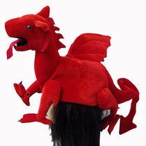 Red Velvet Griffin Hat Photo