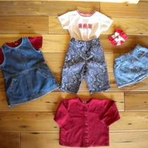 Red White & Denim Gap & Gymboree 7 Pieces  12-18 Months Photo