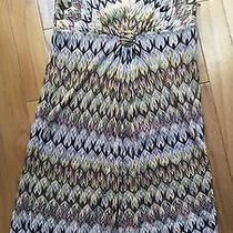 Reduced Missoni Orange Label Chevron Knit Dress It 40 Us Sz 6 Euc Photo