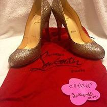 Reduced Super Shiny Glitter Louboutin Pumps Like New Photo