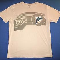 Reebok 1966 Miami Dolphins Mens T Shirt Size Xl Photo