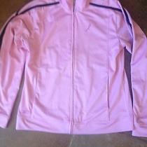 Reebok Avon Breast Cancer Pink Track Jacket  Sz Small Photo