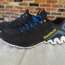 Reebok Black/blue/yellow/white Zigtech 023501 113 Running Shoes Size Men's 14 M Photo