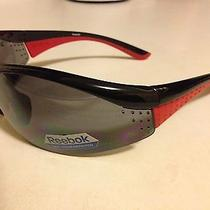 Reebok Black Reecover Sport Sunglasses. Grey Spectra Polycarbonate. Closeout. Photo
