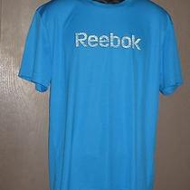 Reebok Blue Tshirt Men's Size Medium Nwot Photo