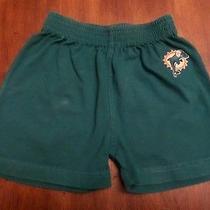 Reebok Boys Miami Dolphins 100% Cotton Shorts Turquoise  18mos Photo