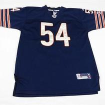 Reebok Brian Urlacher Chicago Bears Nfl Jersey Sz Youth M (12-14) Womens Xs S Photo