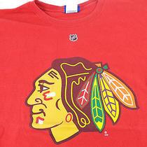 Reebok Chicago Blackhawks Brian Campbell Hockey Jersey T Shirt Large Photo