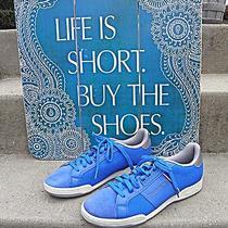 Reebok Classic Npcii Re Retro Elements Vital Blue Size 10 Medium Low Cut Sneaker Photo