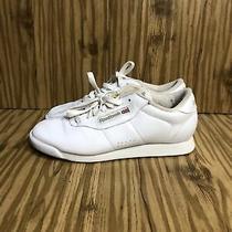 Reebok Classic Princess White Athletic Walking Shoes Size Us 8 D (Eu 38.5) Photo