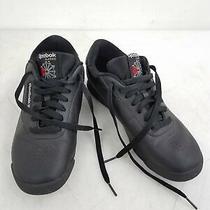 Reebok Classic Women's Black Athletic Shoes Size 9 Wide D Photo