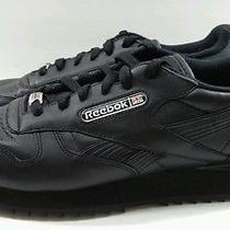 Reebok Classic Women's Black Fashion/athletic Sneakers - Size 9.5  Photo
