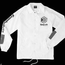 Reebok Classic X Freebandz Coach Jacket White Size Medium (Future) Photo