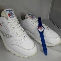 Reebok Concept Sample 001 Sneakers Men's Size 12 White Limited Edition W/ Watch  Photo