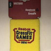 Reebok Crossfit 2014 Games Wristband - Limited Edition -  1 Piece Photo