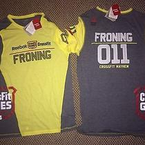 Reebok Crossfit Games 2014 Rich Froning Yellow Jersey Medium Nwt Photo