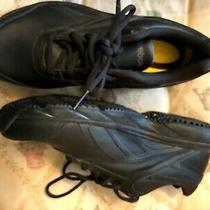 Reebok Dmx Ride Black Slip & Oil Resistant Work Shoes Sneakers Women Sz 6.5 Photo