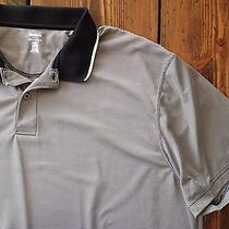 Reebok Golf Playdry Men's S/s Striped Polyester Athletic Polo Shirt Sz. 3xl Photo