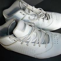 Reebok Hexalite White & Silver Athletic Shoes Size 9.5 Photo