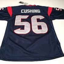 Reebok Houston Texans Brian Cushing 56 Youth Med Football Jersey Nfl - Nwt Photo