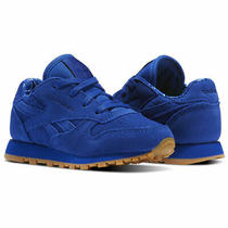 Reebok Infant Classic Leather Tdc Trainers Children Baby Shoes Bd5158 Royal Blue Photo