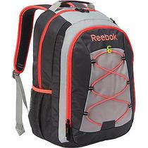Reebok Keenan Backpack - Grey/grey/diva Pink School & Day Hiking Backpack New Photo
