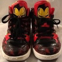 Reebok Marvel Ironman Hi-Top Shoes/3 Free Shipping Photo