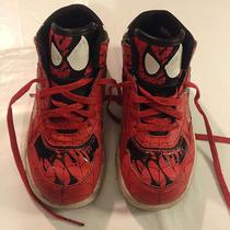Reebok Marvel Spider-Man Sneakers - Kids Size 9 1/2  Photo