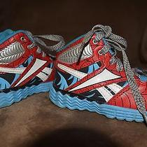 Reebok Marvel Spiderman Toddler Shoes Size 6 Photo