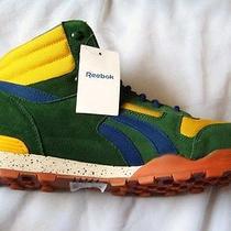 Reebok Marvel X Pack Sabretooth Night Sky Mid Green Yellow/ Blue  J94346 Size 12 Photo