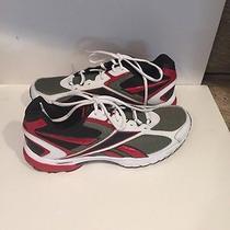 Reebok Men's Cruison Training Shoe Black / Red/white Size 10.5 Photo