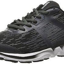 Reebok Men's Zigkick Force Running Shoe Black/gravel/graphite/white Photo
