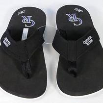 Reebok Mens Colorado Rockies Thong Sandals Sz 4 Nwt Photo