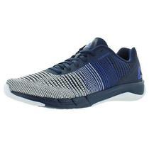 Reebok Mens Faster Flexweave Blue Running Shoes Sneakers 9 Medium (D) Bhfo 1157 Photo