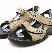 Reebok Mens Sports Sandals 13 River Water Outdoors Camping Terrain Suede Leather Photo