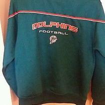Reebok Miami Dolphins Kids Sweatshirt Large 14/16 Photo