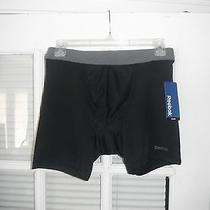 Reebok  Microfiber Performance Tech Training Boxer Brief Blac - Mens Size Small Photo