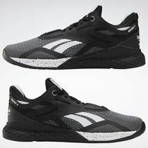 Reebok Nano X Women's Training Shoes  Black / White / Glass Blue Photo