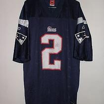 Reebok New England Patriots Flutie 2 Jersey Size Xl Nfl Players Football Sports  Photo