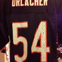 Reebok Nfl Chicago Bears Brian Urlacher Football Jersey Boys Size Xl 18/20 Photo