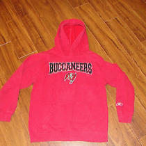 Reebok Nfl Team Apparel Tampa Bay Buccaneers Hoodie Youth Medium 8/10 Photo