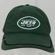 Reebok Onfield Ny Jets Nfl Velcro Closure Green Hat Football One Size Baseball Photo