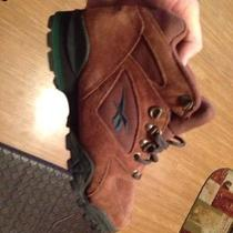 Reebok Outdoor Steel Shank Hexalite Suede Leather Hiking Boots Womens 6.5 Shoes Photo
