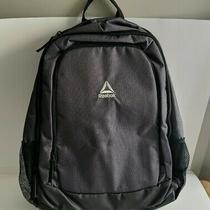 Reebok Power Pack Iii Backpack Dark Heather Grey Laptop Pockets Water Resistant Photo