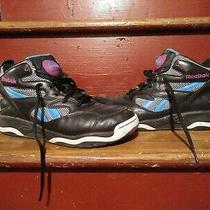 Reebok Pump Above the Rim Sz 8 Sneakers Shoes teal.purple.black Free Shipping  Photo