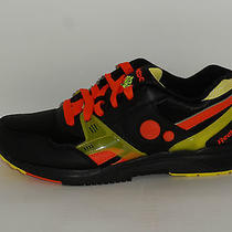 Reebok Pump Running Dual Halloween Black Orange Yellow Sz 11.5 Hexalite Hexride Photo