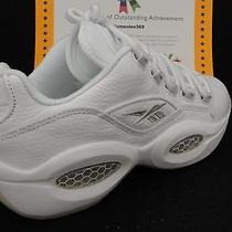 Reebok Question Low White / Pure Siver Size 13 Photo