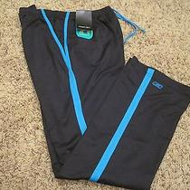 Reebok Rbk Womens Play Dry Black Essential Fit Relaxed Fit Workout Pants Size S Photo