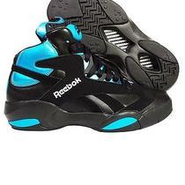 Reebok - Shaq Attaq (Black/azure) V55083 Brand New Authentic Size 9 Photo