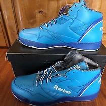 Reebok Sir Jam Mid - Blue - Size Us12 Limited Edition - 2010 Rare New W/ Box Photo